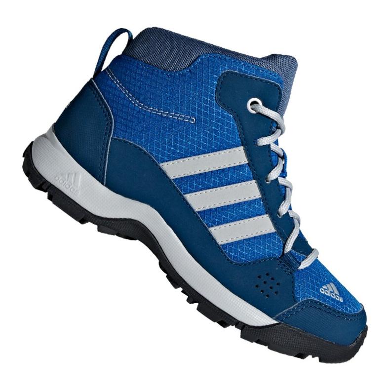 Buty adidas Hyperhiker K Jr G27790 niebieskie