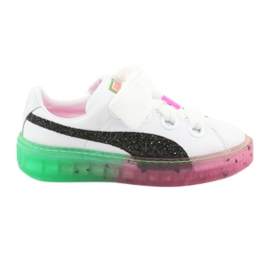 Platform Candy Princess Sophia Webster PUMA White PUMA Black