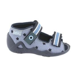 Befado niebieskie obuwie dziecięce 250P079