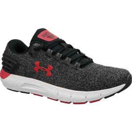 Szare Buty biegowe Under Armour Charged Rogue Twist M 3021852-001