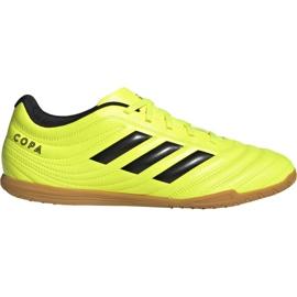 Buty piłkarskie adidas Copa 19.4 In M F35487 żółte