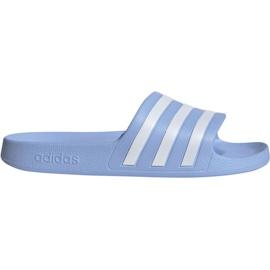 Niebieskie Klapki adidas Adilette Aqua W EE7346