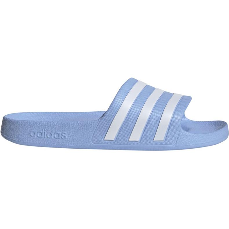 Klapki adidas Adilette Aqua W EE7346 niebieskie