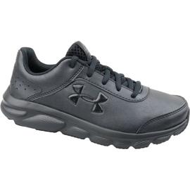 Buty biegowe Under Armour Gs Assert 8 Jr 3022697-001 czarne czarny