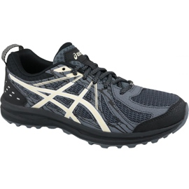 Szare Buty biegowe Asics Frequent Trail M 1011A034-005