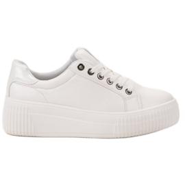 Kylie białe Buty Sportowe Na Platformie