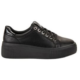 Kylie czarne Buty Sportowe Na Platformie