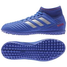 Buty adidas Predator 19.3 Tf Jr CM8546 niebieskie