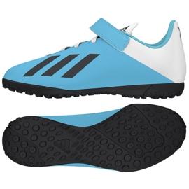 Buty adidas X 19.4 H&L Tf Jr EF9126 niebieskie