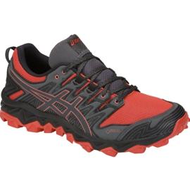 Czerwone Buty biegowe Asics Gel-FujiTrabuco 7 M G-TX M 1011A209-600