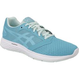 Niebieskie Buty biegowe Asics Patriot 10 W 1014A025-400