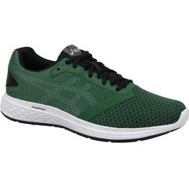 Zielone Buty biegowe Asics Patriot 10 M 1011A131-300
