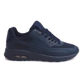 Granatowe Sneakersy Adidasy DN6-7 Granatowy