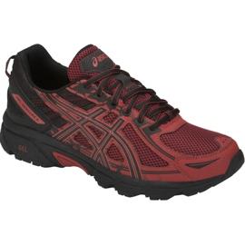 Czerwone Buty biegowe Asics Gel-Venture 6 M T7G1N-800