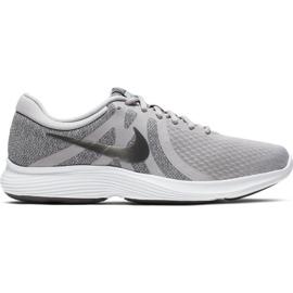 Szare Buty biegowe Nike Revolution 4 Eu M AJ3490-020