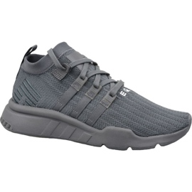 Szare Buty adidas Eqt Equip Support Mid Adv M F35144