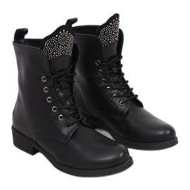 Botki militarne czarne 7369-PA Black