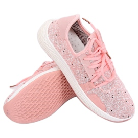 Buty sportowe różowe AK28P Pink