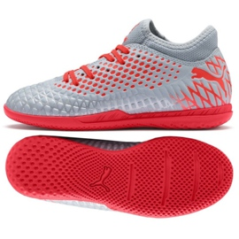Buty Puma Futrure 4.4 It Jr 105700 01 szary