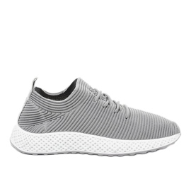 Szare obuwie sportowe GM809-26