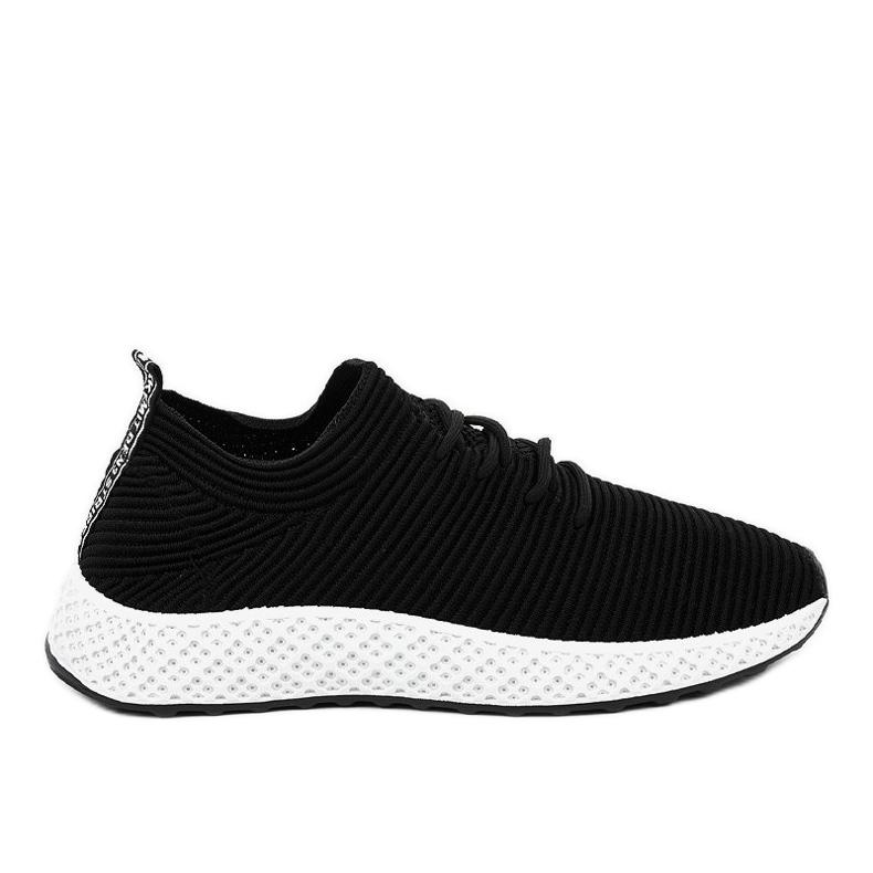 Czarne obuwie sportowe GM809-1