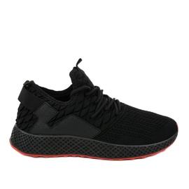 Czarne obuwie sportowe GM806