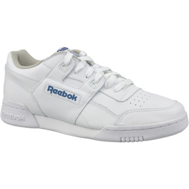 Białe Buty Reebok Classic Workout Plus M 2759