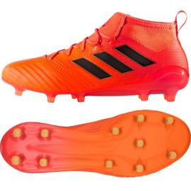 Buty adidas Ace 17.1 Fg M S77036 pomarańczowe