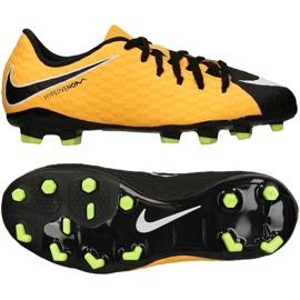Buty Nike Hypervenom Phelon Iii Fg Jr 852595 801 żółte