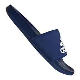 Niebieskie Klapki adidas Adilette Comfort Plus M B44870