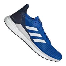 Buty biegowe adidas Solar Glide 19 M F34099 niebieskie