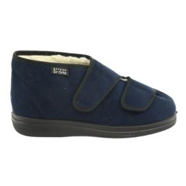 Granatowe Befado obuwie damskie  pu 986M010