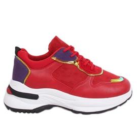 Buty sportowe czerwone CB-19056 Red