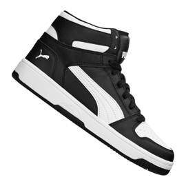 Czarne Buty Puma Rebound LayUp Sneakers Jr 370486 01