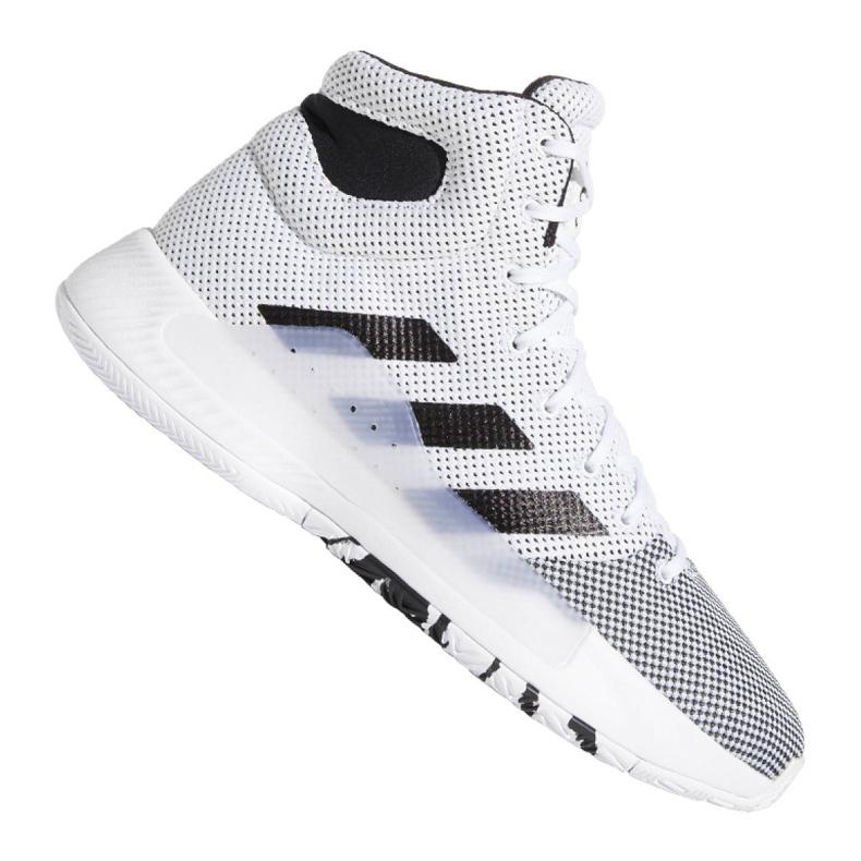 Buty adidas Pro Bounce Madness 2019 M BB9235 białe białe