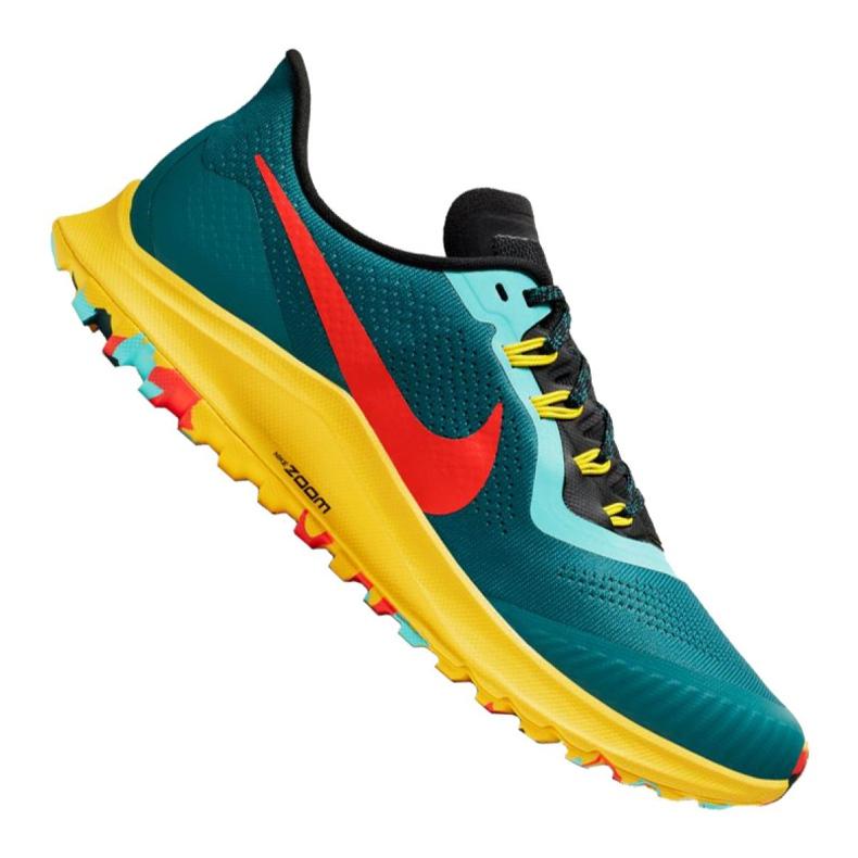 Buty Nike Air Zoom Pegasus 36 Trail M AR5677-301 niebieskie wielokolorowe