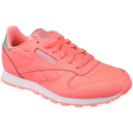 Buty Reebok Classic Leather Jr BS8981 różowe