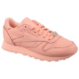 Różowe Buty Reebok Classic Leather W BS7912