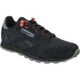 Buty Reebok Classic Leather Jr CN4705 czarne