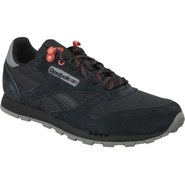 Czarne Buty Reebok Classic Leather Jr CN4705