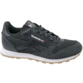 Szare Buty Reebok Cl Leather Estl U CN1142