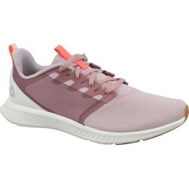 Różowe Buty biegowe Reebok Fusium Lite W CN6527