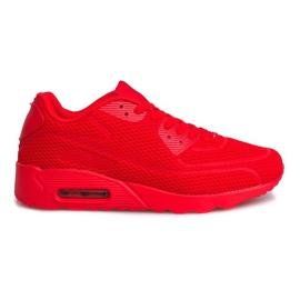 Czerwone Sportowe Trampki Adidasy 5598-5 Red
