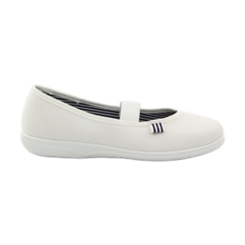Białe Befado obuwie dziecięce 274Y013