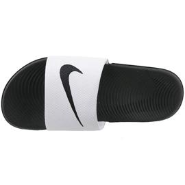 Białe Klapki Nike Kawa Slide Gs/Ps 819352-100