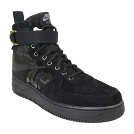 Buty Nike Sf Air Force 1 Mid M 917753-008 czarne