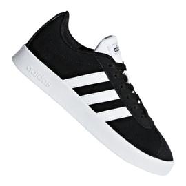 Czarne Buty adidas Vl Court 2.0 Jr DB1827