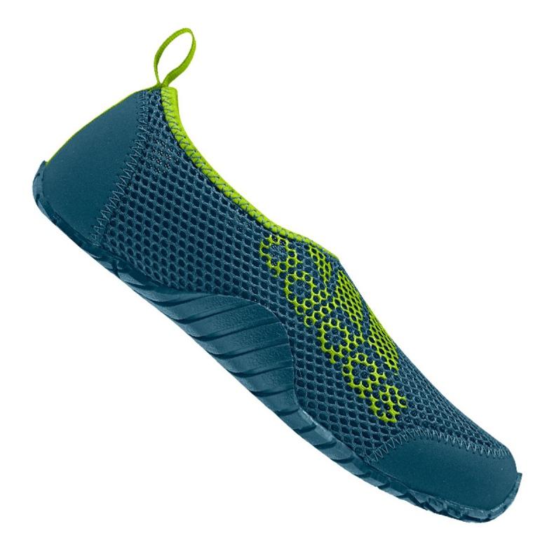 Buty do wody adidas Kurobe K Jr CM7644 zielone niebieskie