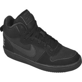 Czarne Buty Nike Sportswear Court Borough Mid (GS) Jr 839977-001