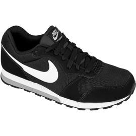 Buty Nike Sportswear Md Runner 2 Jr 807316-001 czarne